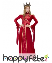 Longue robe rouge de Melisandre of Asshai, femme, image 1