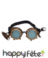 Lunettes steampunk lumineuses