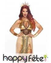 Luxueuse tenue de la déesse du soleil pour femme, image 2