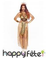 Luxueuse tenue de la déesse du soleil pour femme