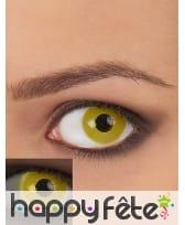 Lentilles UV jaunes, image 1