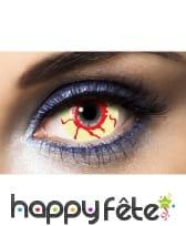 Lentilles yeux de sang sclera