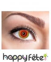 Lentilles yeux infectés de monstre