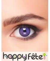 Lentilles yeux violets de monstre