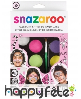Maquillage 8 couleurs fille, Snazaroo