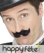 Moustaches année 20 noires