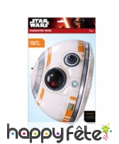 Masque bb-8 star wars en carton plat