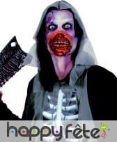 Masque bouche de zombie