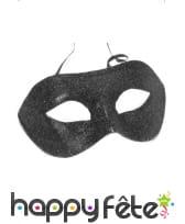 Masque brillant noir