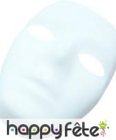 Masque blanc pour homme à peindre