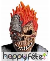 Masque cyber crâne punk intégral