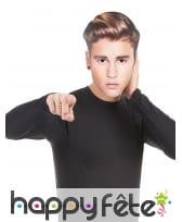 Masque carton de Justin Bieber en carton, image 1