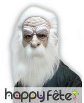 Masque complet de vieux mage
