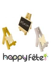 Mini chevalet décoratif en bois
