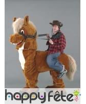 Mascotte cheval et cavalier