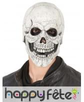 Masque crâne squelette en latex