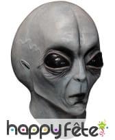 Masque d'Alien Zone 51 intégral en latex