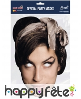 Masque de Amy Winehouse en carton, image 1