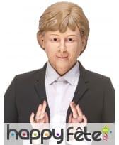 Masque de Angela Merkel humoristique