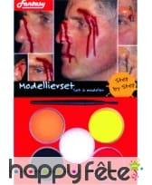 Maquillage de blessure aquaexpress
