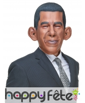 Masque de Barack Obama humoristique