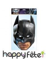 Masque de batman en carton