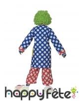 Manteau de clown bleu à pois blancs pour enfant, image 1