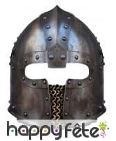 Masque de casque Normand en carton