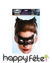 Masque de catwoman en carton