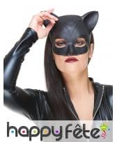Masque de Catwoman en latex pour adulte