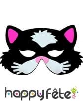 Masque de chat pour enfant, en mousse