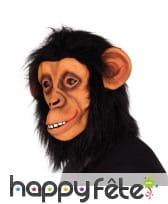 Masque de chimpanze intégral en latex pour adulte