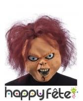 Masque de Chucky integral pour adulte