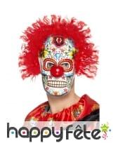 Masque de clown du jour des morts