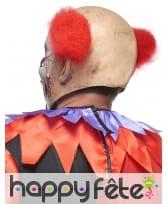 Masque de clown fou aux cheveux rouges, image 1