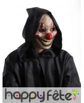 Masque de clown tueur avec bouche articulée, image 1