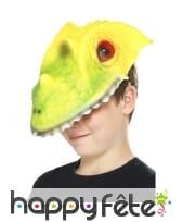 Masque de crocodile pour enfant