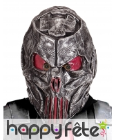 Masque de cyborg alien intégral