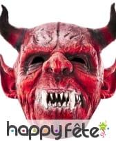 Masque de diable en carton plat