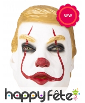 Masque de Donald le clown infernal