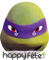 Masque de Donatello en carton plat