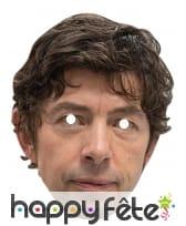 Masque de Drosten en carton plat