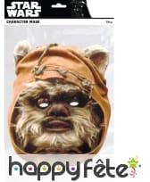 Masque d'Ewok en carton plat, image 1