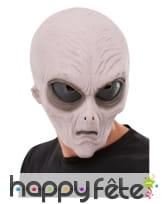 Masque d'extra-terrestre intégral pour adulte