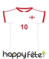 Maillot de foot Angleterre en carton