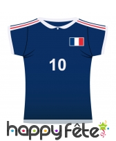 Maillot de foot France en carton
