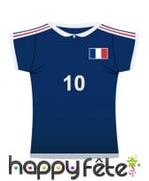 Maillot de foot France en carton