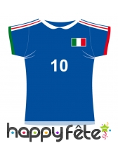 Maillot de foot Italie en carton