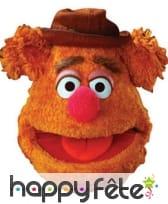 Masque de Fozzie du muppet show