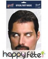 Masque de Freddie Mercury en carton, image 1